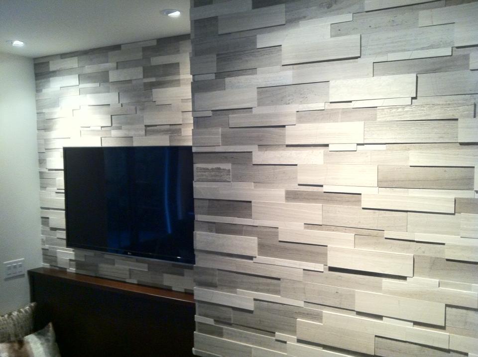 Installation of Silver Fox Regular Format Wall Feature