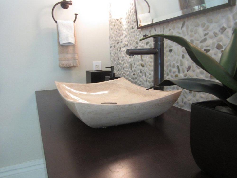 Ivory Blend River Pebble Erthcoverings
