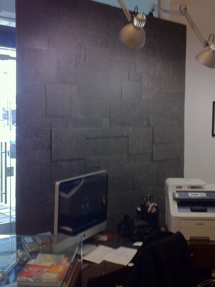 Lavastone Flamed Erthcoverings Install
