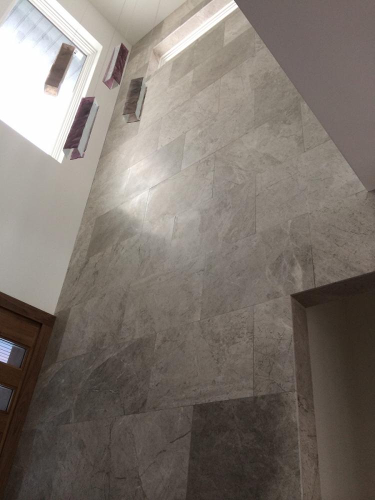 Limestone Installation