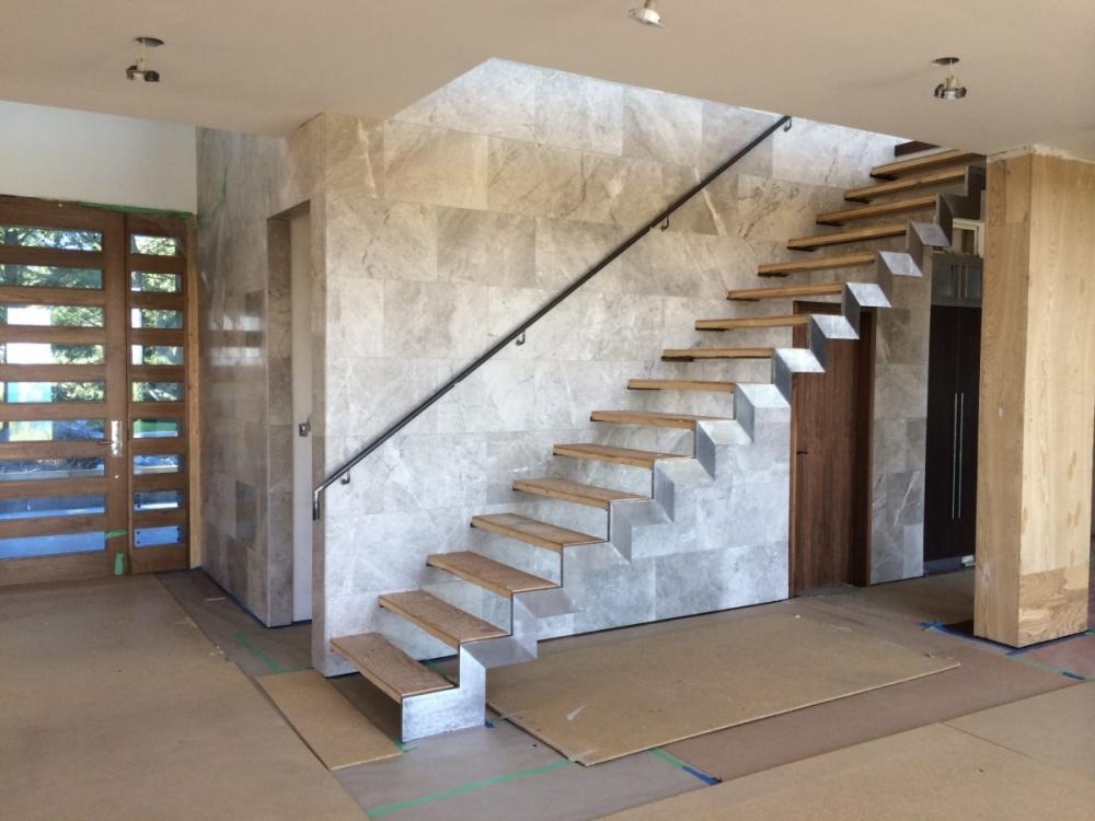Limestone Staircase Installs