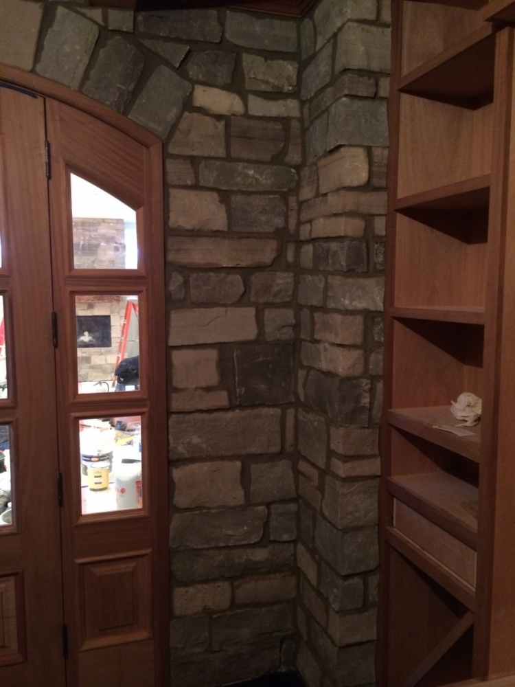 Natural Stone Veneer Installations