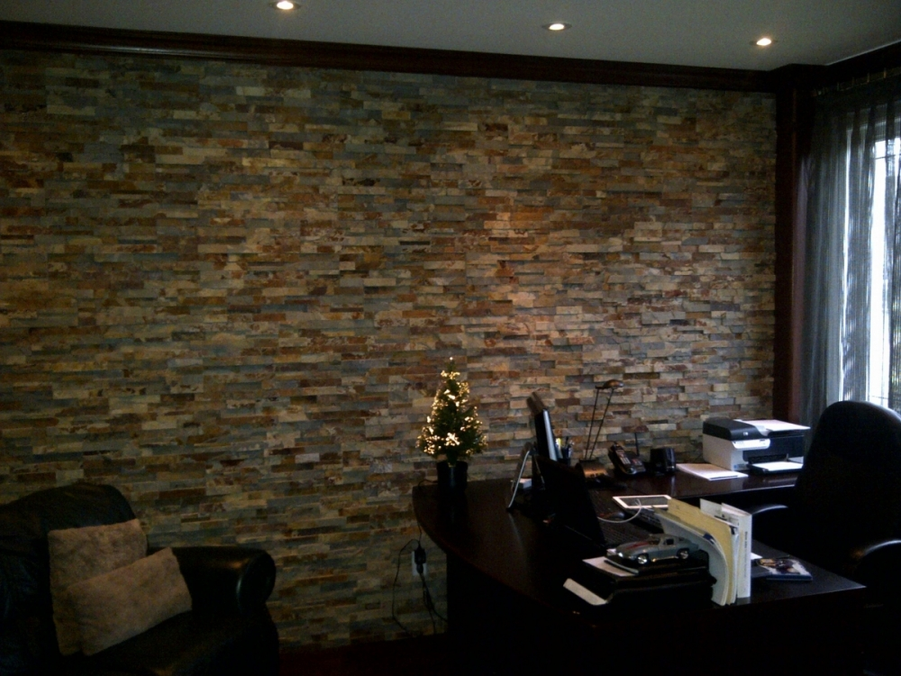 Outback Brown 3D Slate Erthcoverings