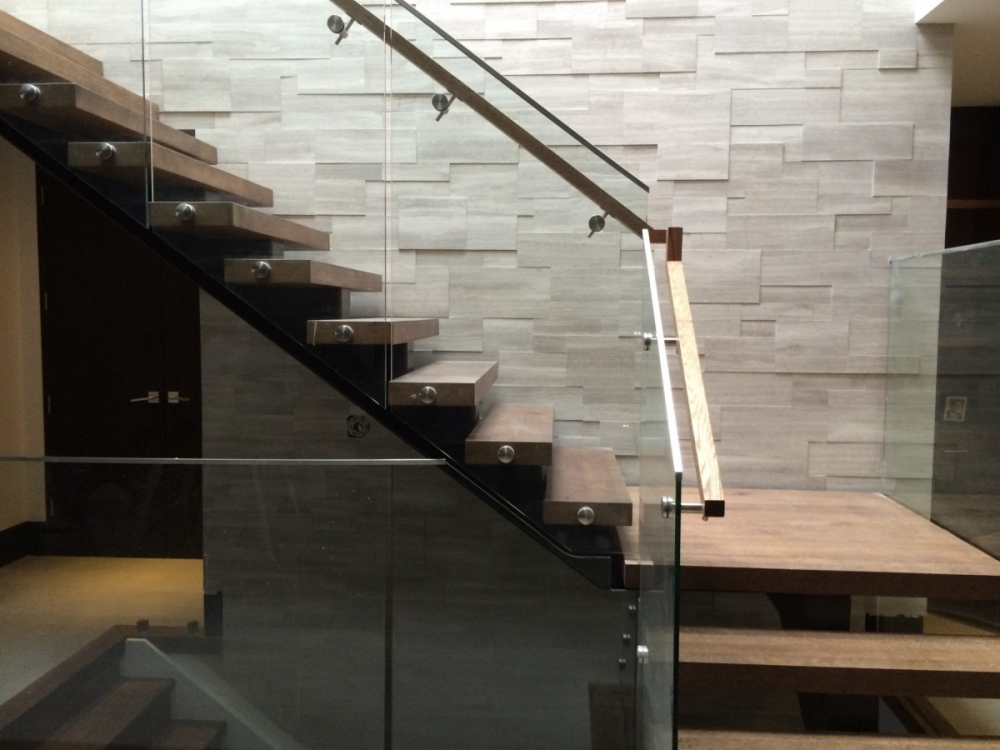 Silver Fox Erthcoverings Installation Staircase