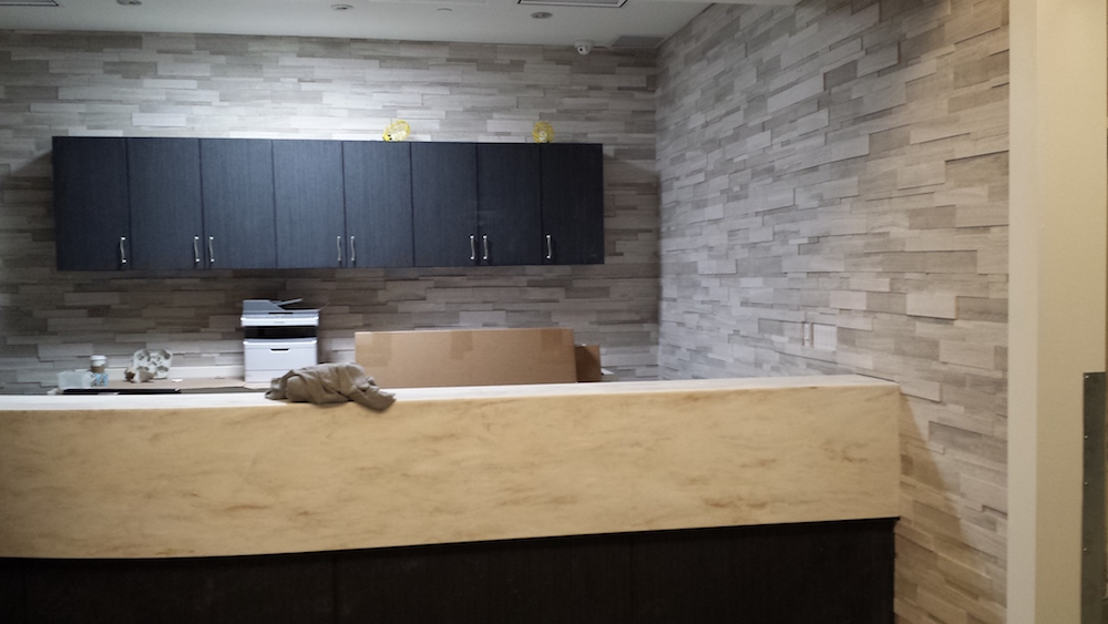 Silver Fox Erthcoverings Limestone Installation