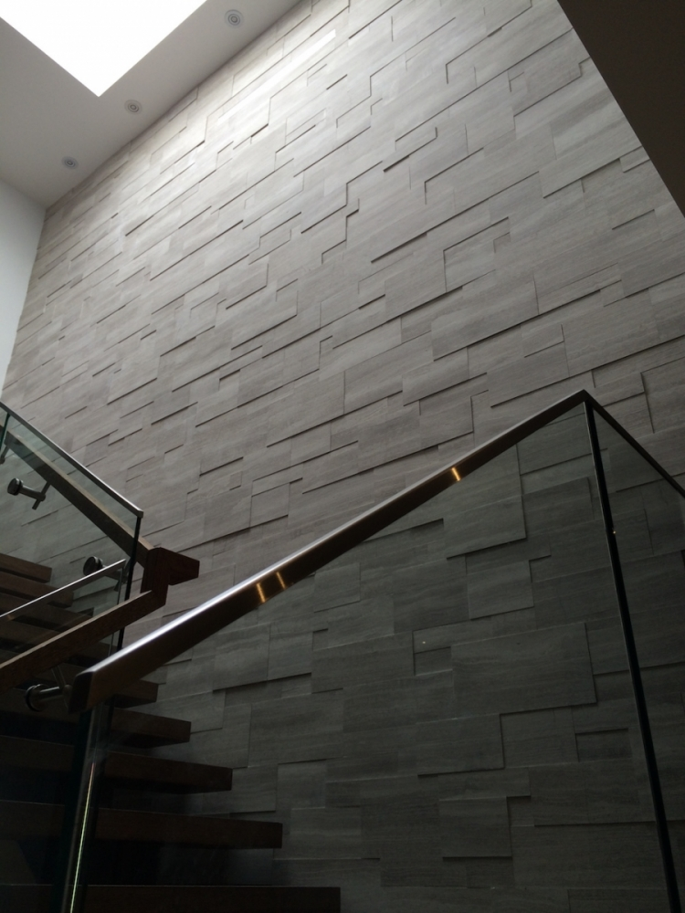 Silver Fox Erthcoverings Regular Format Wall Feature