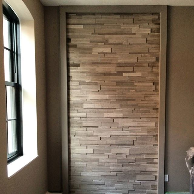 Silver Fox Feature Wall Installation