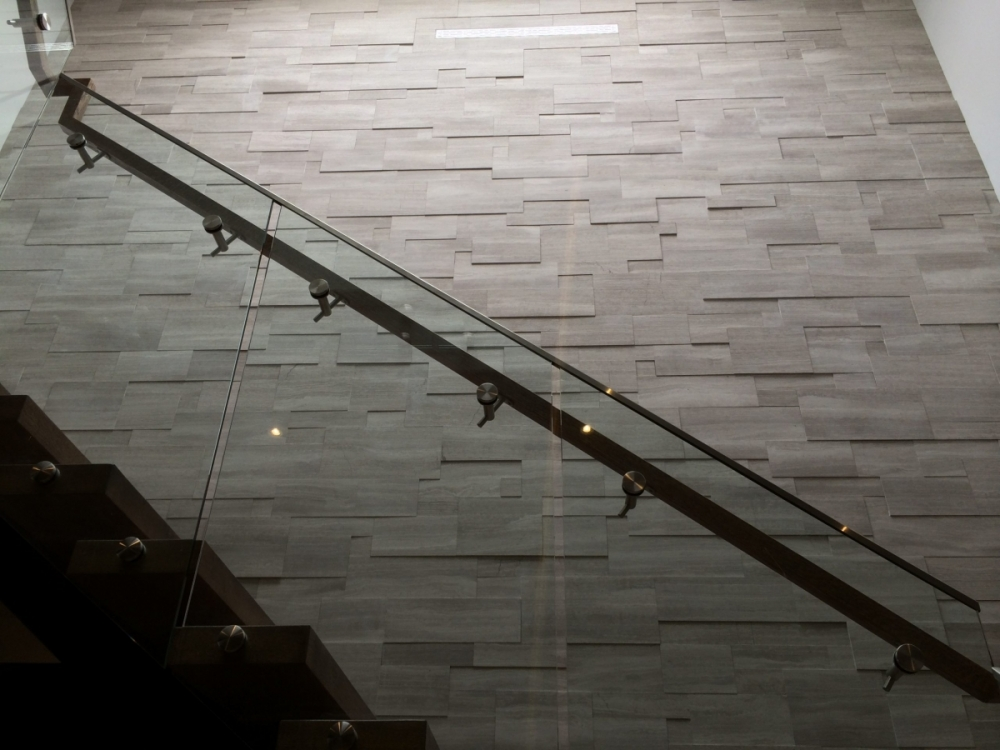 Silver Fox Installation on Staircase