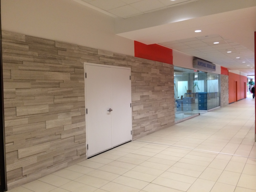 Silver Fox Regular Format Erthcoverings Install Feature Wall