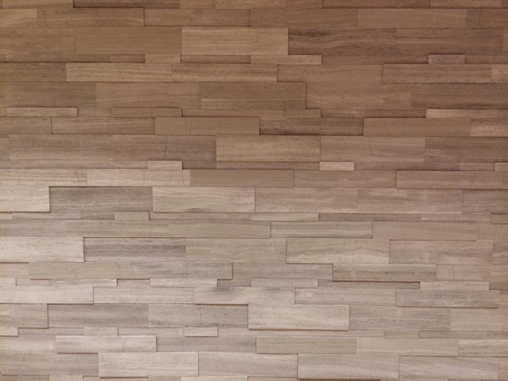 Silver Fox Regular Format Strips Install Feature Wall