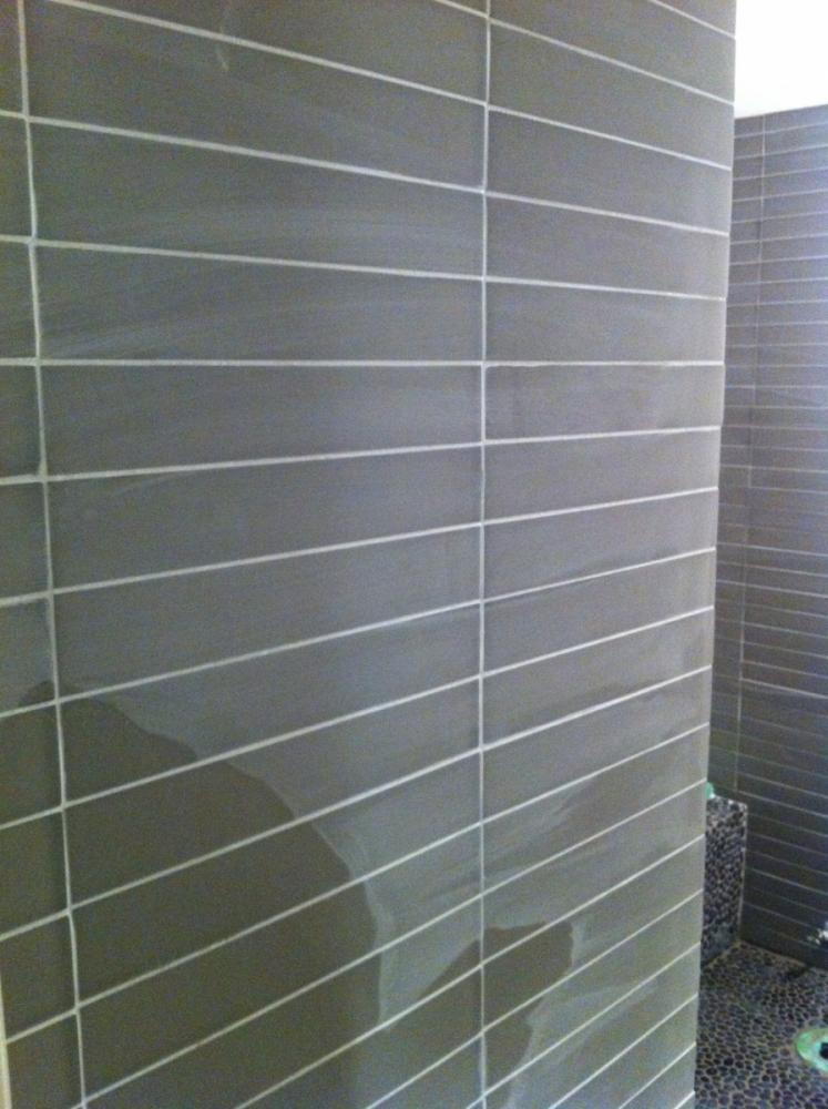 Stone Tile Glass Tile Install