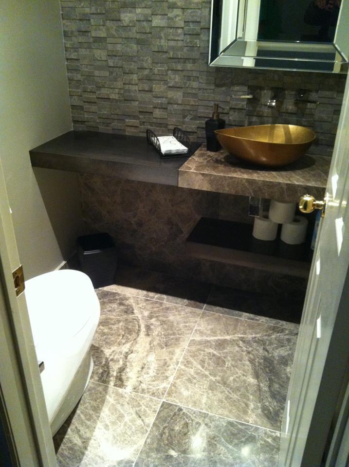 Stone Tile Install