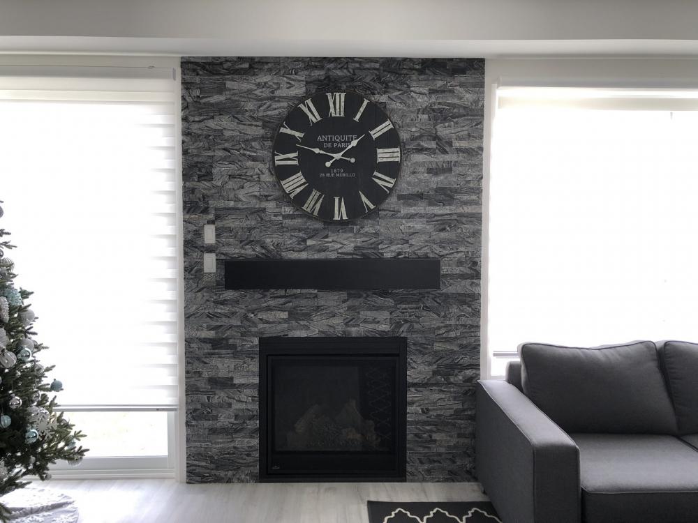 fireplace facing oakville