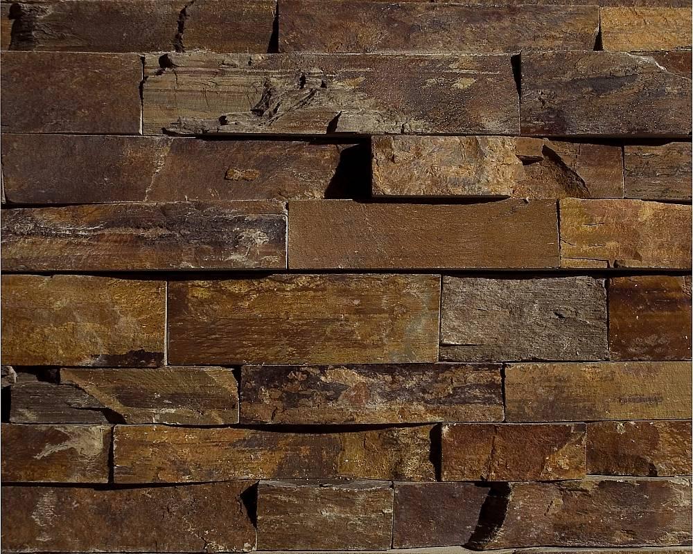 Outback brown ledgestone