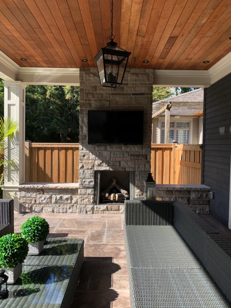 Outdoor fireplace toronto