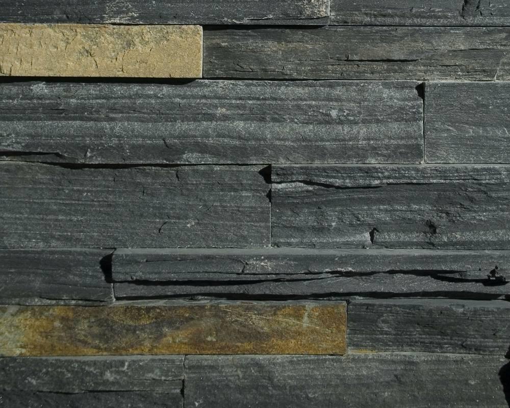 Springwoodblack ledgestone