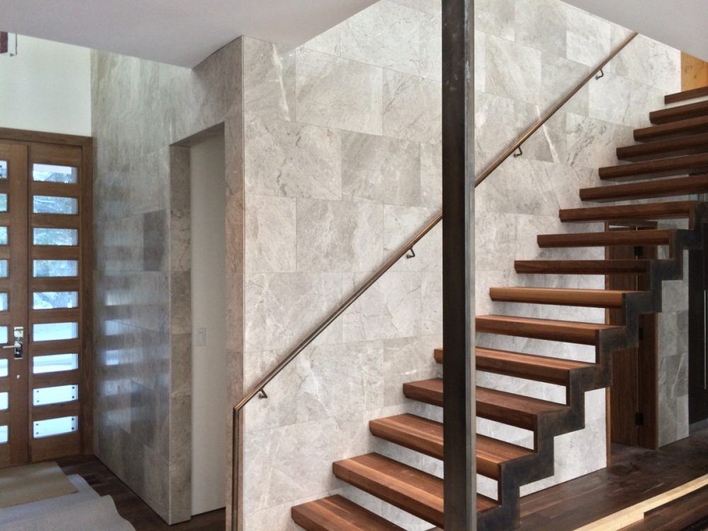 stair case wall